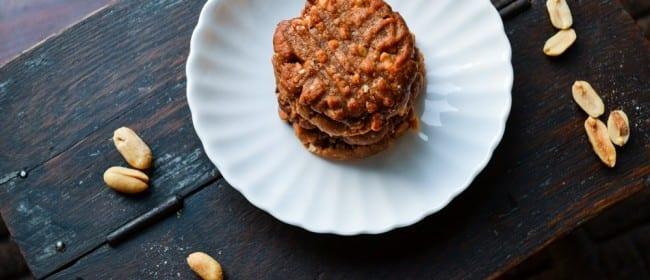 Peanut Butter Cookies {Gluten Free}