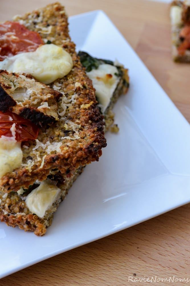 Quinoa Crust Pizza-1-2