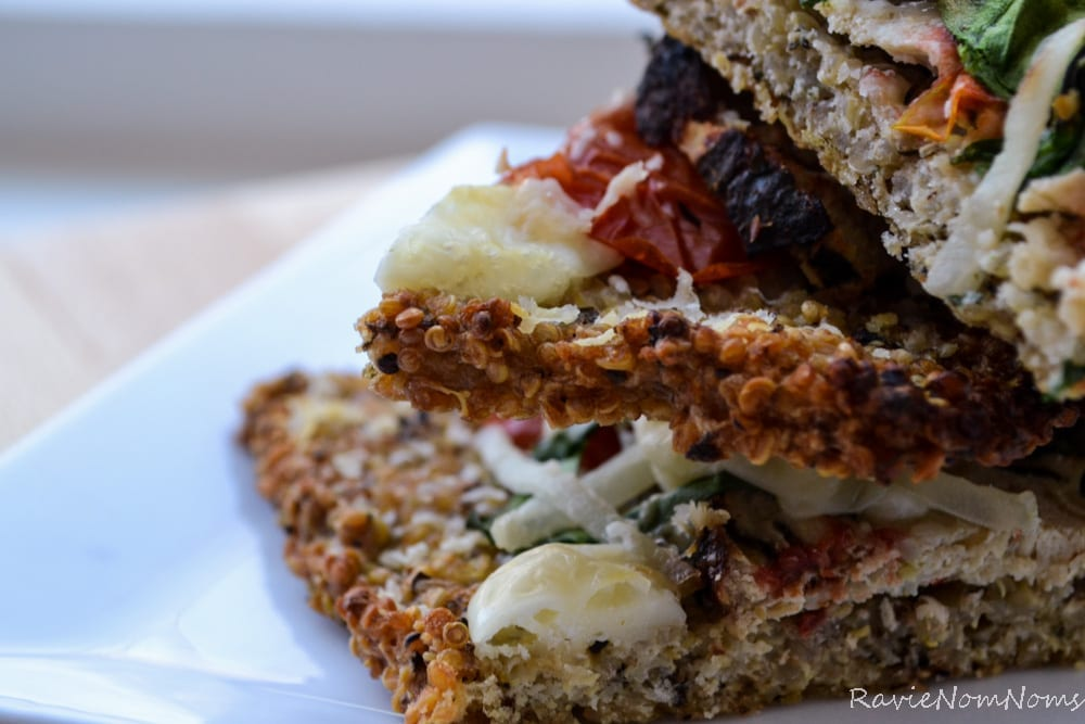 Quinoa Crust Pizza-1-7
