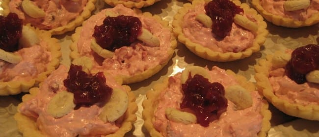 Cranberry Mousse Tarts