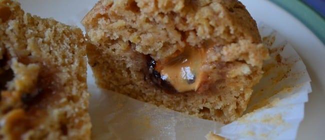 PB&J Filled Muffins