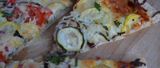 My Guest Post at More Than a Mountful – Ratatouille Pizza