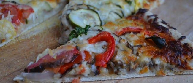 Ratatouille Pizza