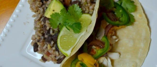 Sautéed Tilapia Tacos