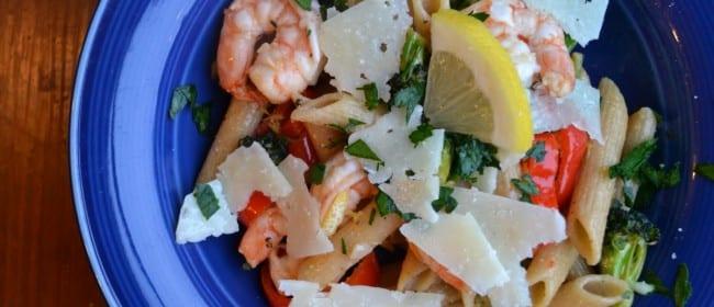 Zesty Lemon Shrimp Pasta