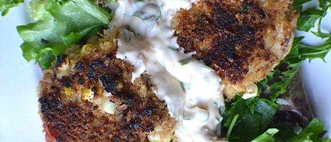 Corn Crab Cakes