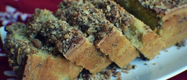 Pecan Streusel Bread