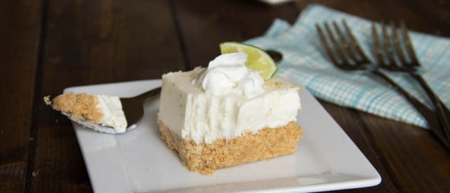 {{GUEST POST}} Frozen Key Lime Margarita Squares w/ Dinners, Dishes and Desserts