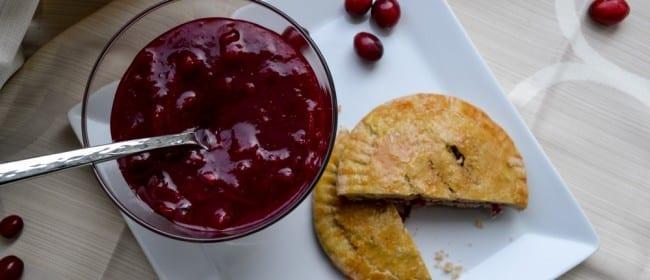Paleo Cranberry Hand Pies