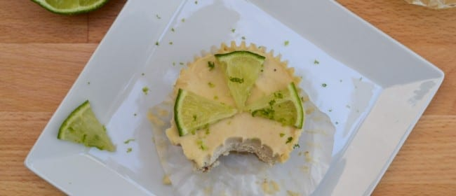 Raw Key Lime Tartlets